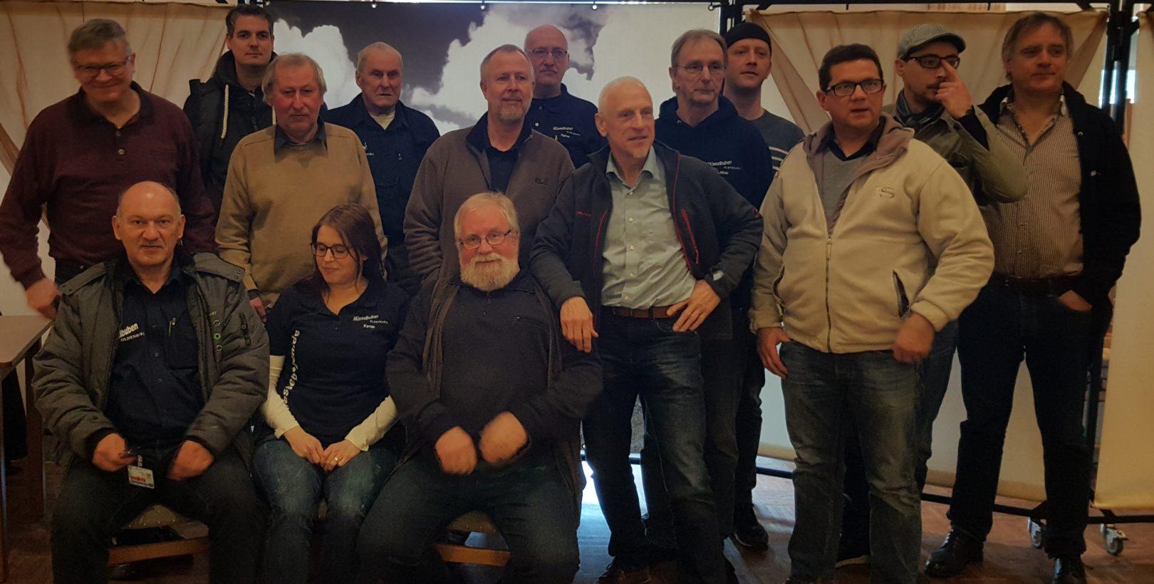 Mannschaft Müsselbuben I + II im Städtepokal